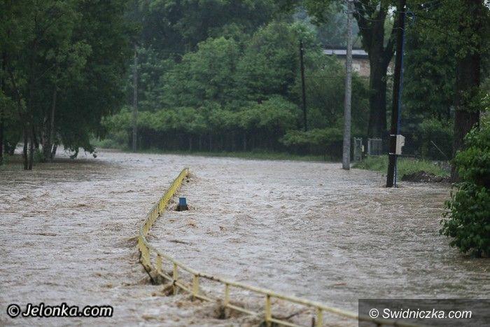 Dolny Śląsk: Po ulewie znowu zalania, podtopienia i ludzkie dramaty