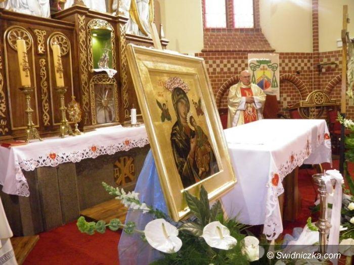Żarów: Matka Boża Żarowska w nowej koronie