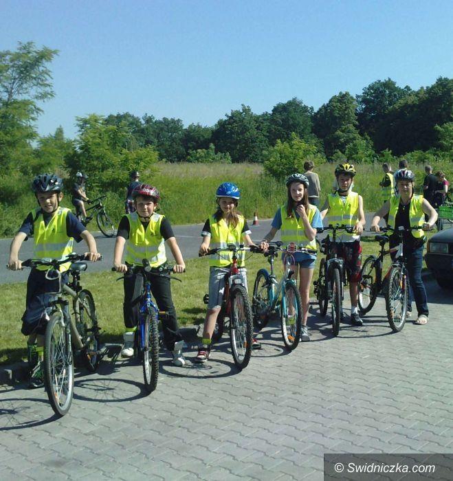 """Świdnica: """"Bezpieczni i sprawni na rowerze"""""""