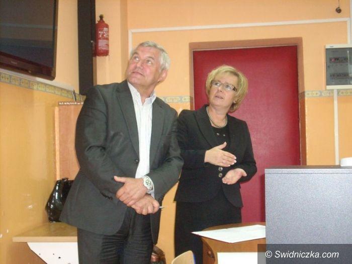 Świdnica: Lekcja z parlamentarzystami w Świdnicy