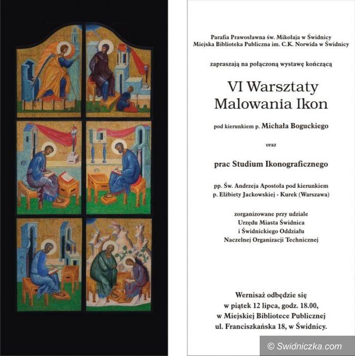 Świdnica: Dobiegają końca VI Warsztaty Malowania Ikon