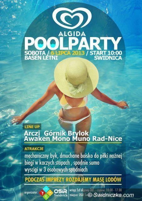 Świdnica: Algida Pool Party na letnim kąpielisku