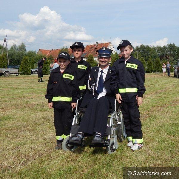 Grodziszcze: Strażacki festyn dla Bogdana