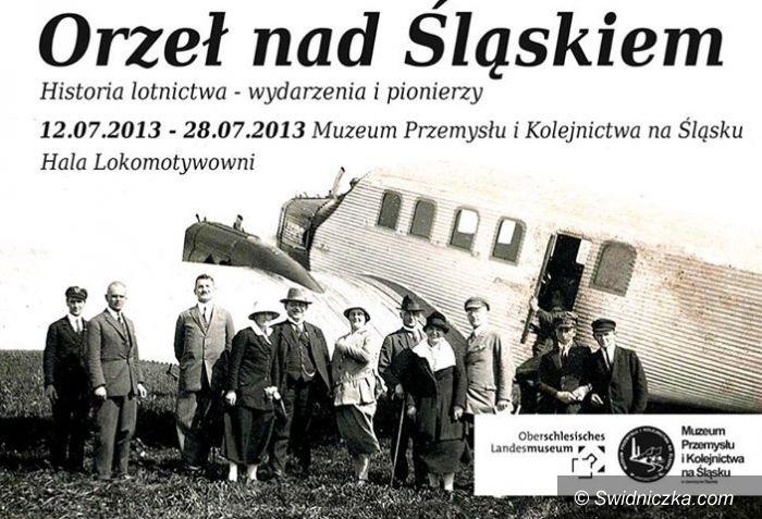 """Jaworzyna Śląska: Wystawa Orzeł nad Śląskiem """"Historia lotnictwa– wydarzenia i pionierzy"""""""