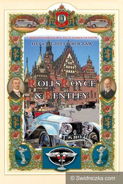 Świdnica: Zabytkowe samochody Rolls–Royce i Bentley opanują Rynek w Świdnicy!