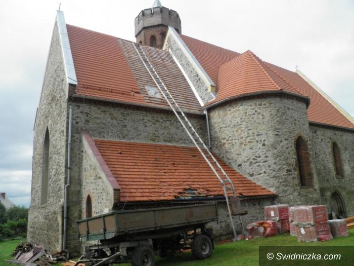 Pożarzysko: Ruszył remont dachu w Pożarzysku