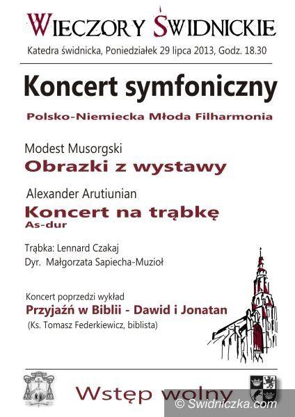 """Świdnica: Koncert symfoniczny w ramach """"Wieczorów Świdnickich"""""""