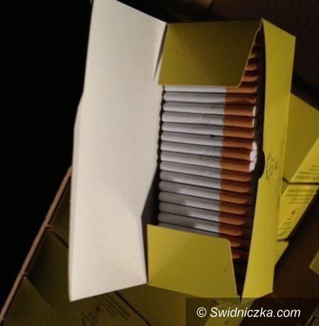 Dzierżoniów: Papierosowa kontrabanda w rękach dzierżoniowskich policjantów