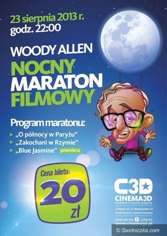 Świdnica: Noc z Woddy Allenem w Cinema 3D