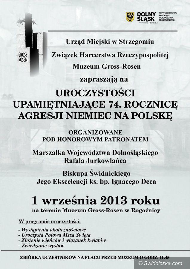 Rogoźnica: 74. rocznica agresji Niemiec na Polskę