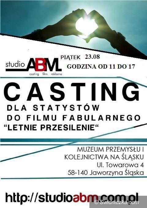 """Jaworzyna Śląska: Casting dla statystów do filmu """"Letnie Przesilenie"""""""