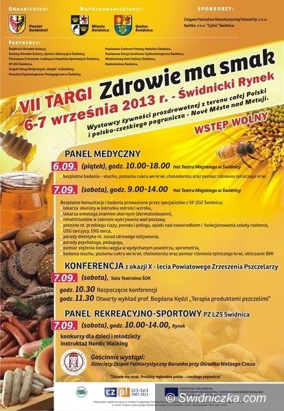 """Gmina Świdnica: Targi – """"Zdrowie ma zmak"""""""