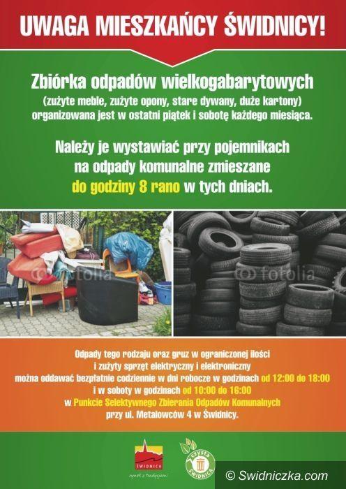 Świdnica: Kolejna wystawka w piątek i sobotę, tony opadów mieszkańcy przywożą do PSZOK