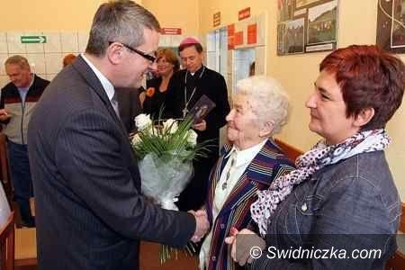 Świdnica: 100 lat pani Ireny Motylewskiej