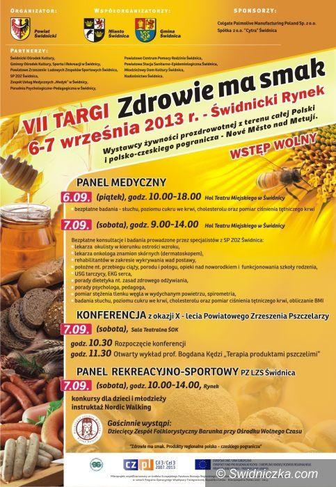 """Świdnica: VII Targi """"Zdrowie ma smak"""" z akcją Colgate"""