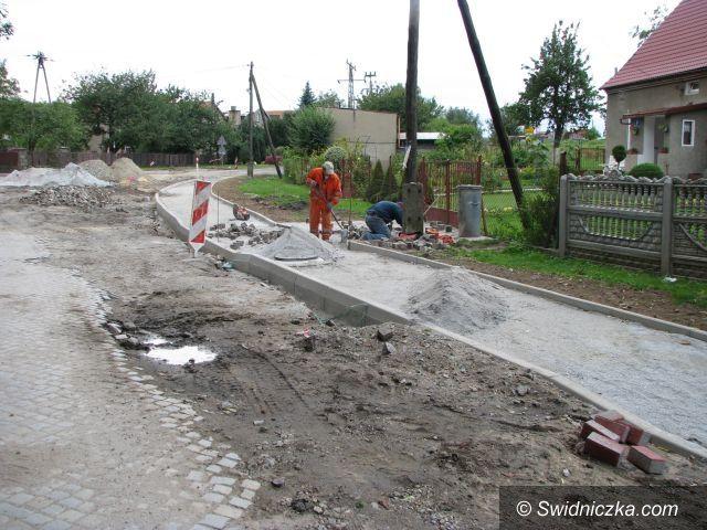 Marcinowice: Remont ul. Sportowej w Marcinowicach