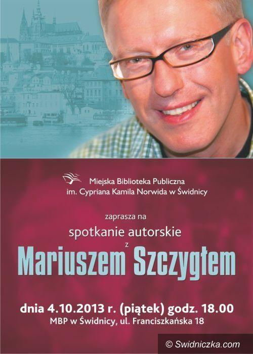 Świdnica: Miejska Biblioteka Publiczna zaprasza na spotkanie z Mariuszem Szczygłem