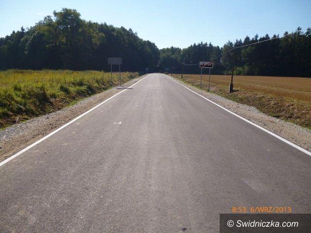 powiat świdnicki: Remontów dróg powiatowych ciąg dalszy
