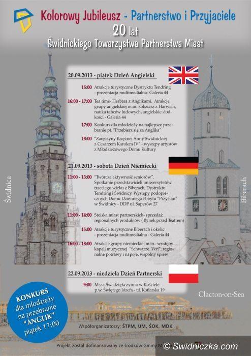 Świdnica: Święto partnerstwa w Świdnicy