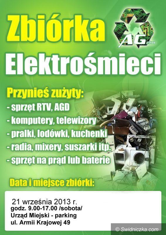 Świdnica: Zbiórka elektrośmieci w Świdnicy