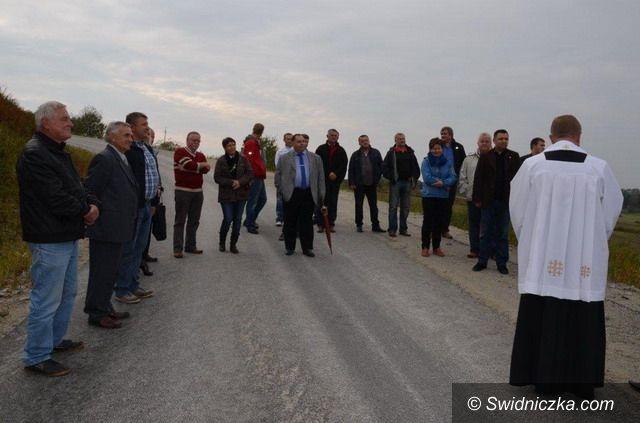 Goczałków: Nowa droga w Goczałkowie