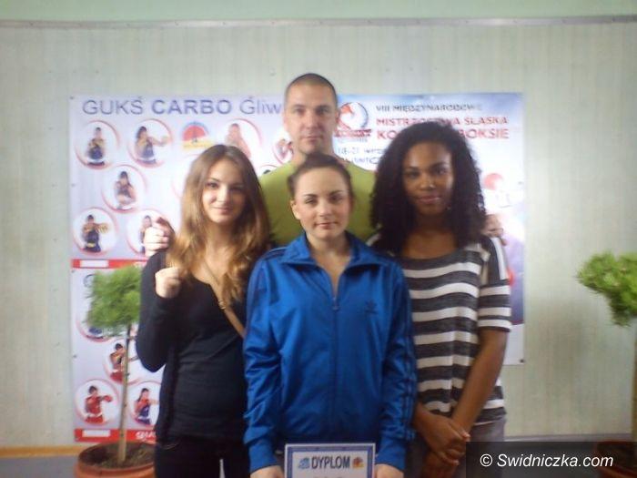 Gliwice: Sukces świdnickich bokserek na Śląsku