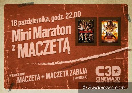 Świdnica: Mini Maraton Filmowy z Maczetą