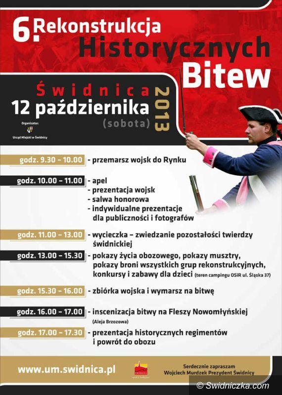 Świdnica: Rekonstrukcja bitwy historycznej