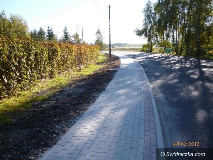 Mrowiny: Inwestycje drogowe w powiecie świdnickim