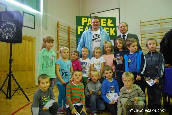 Marcinowice: Mistrz świata zawitał do Marcinowic