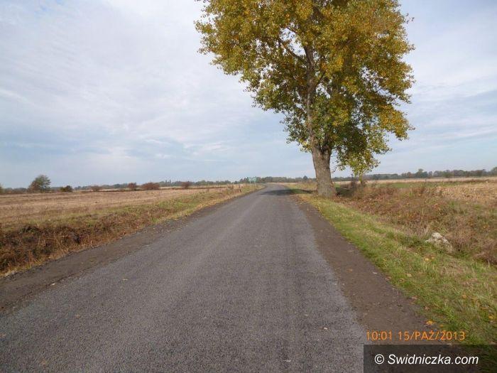 Modlęcin: Przebudowa drogi powiatowej nr 2920 D od Modlęcina do krajowej piątki