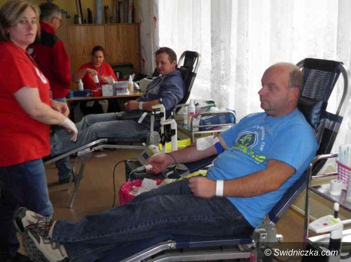 Żarów: Podsumowanie żarowskiej zbiórki krwi