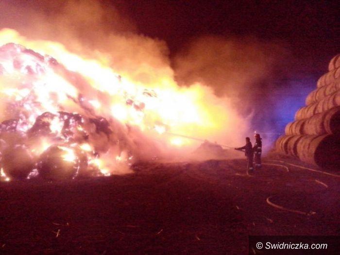Mokrzeszów: Pożar w Mokrzeszowie
