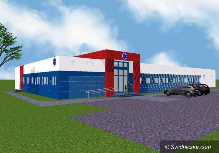 Świdnica: Stan prac nad koncepcją dotyczącą nowej siedziby pogotowia ratunkowego