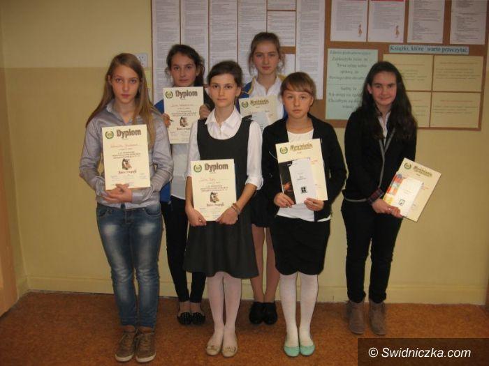 Świdnica: Zwycięzcy XII Świdnickiego Międzyszkolnego Konkursu Ortograficznego