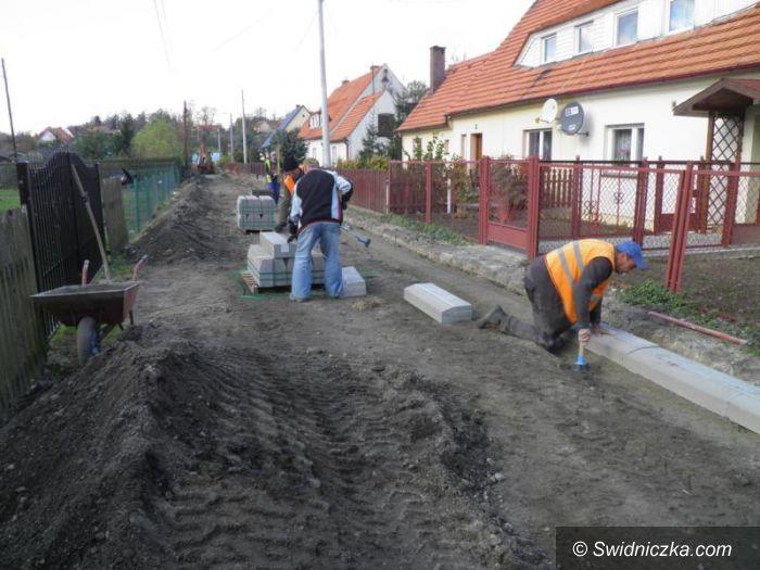 Gmina Żarów: Kolejne drogi w remoncie