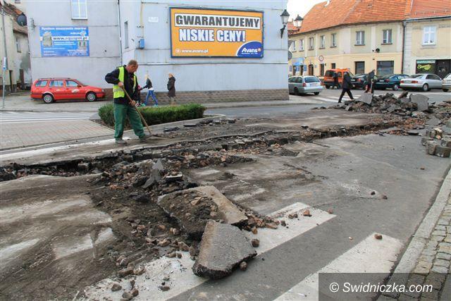 Świebodzice: Remont ulicy Żeromskiego w Świebodzicach przesunięty