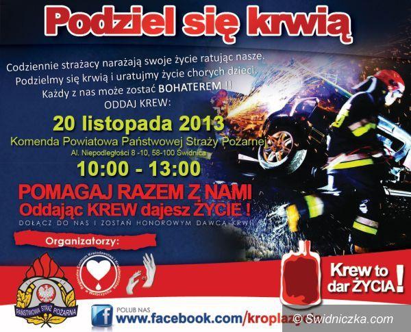 Świdnica: Poleje się krew w Straży Pożarnej