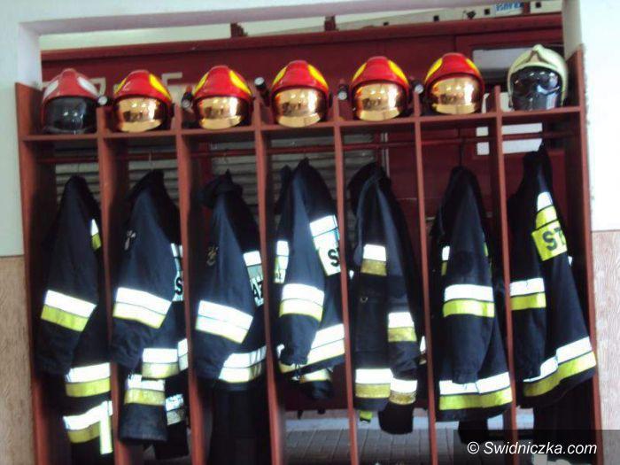 Wierzbna: Mają nowe szafki na mundury bojowe
