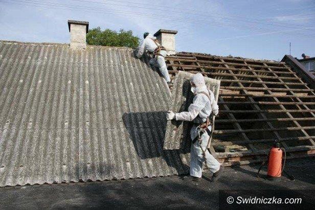 Gmina Dobromierz: Walka z azbestem. Rusza nowy nabór wniosków