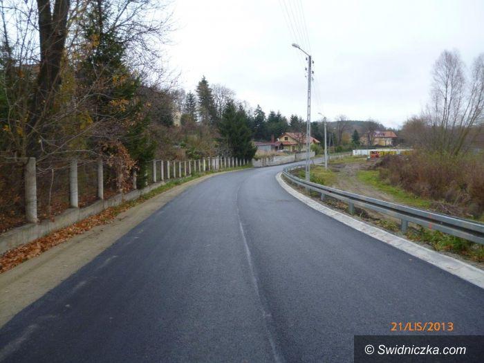 powiat świdnicki: Remonty dróg powiatowych w gminie Świdnica