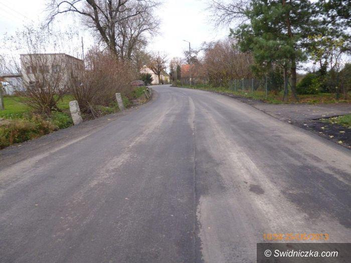 Modlęcin: Przebudowa drogi powiatowej w miejscowości Modlęcin