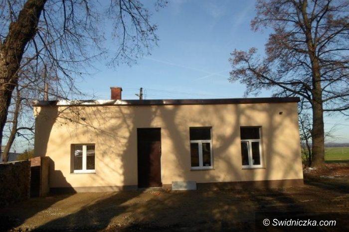 Bronów: Zakończono modernizację świetlicy w Bronowie