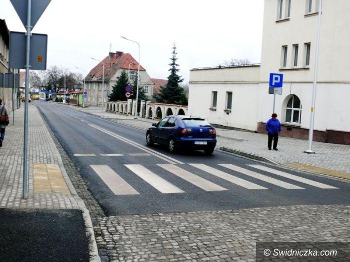 Strzegom: Ulica Szarych Szeregów na finiszu