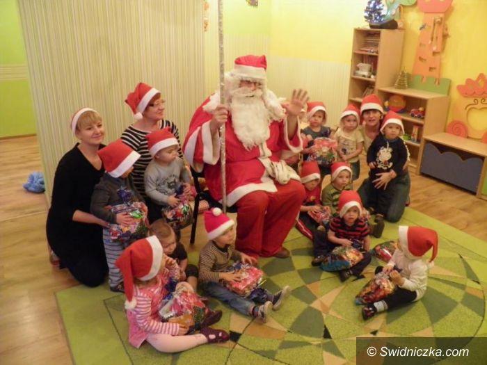 Żarów: Święty Mikołaj wśród żarowskich przedszkolaków