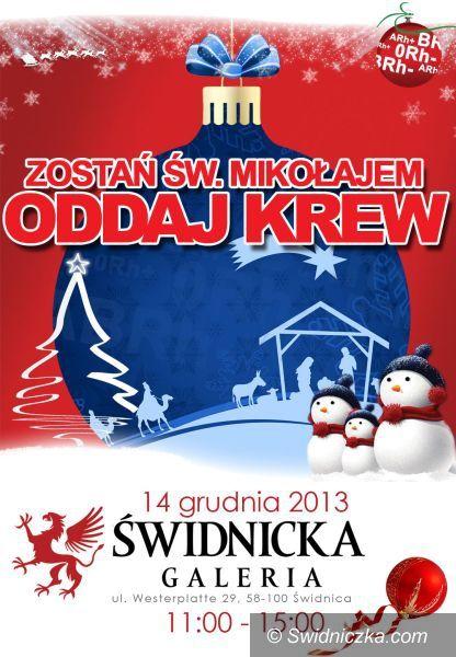 Świdnica: Podaruj krew – zostań świętym Mikołajem