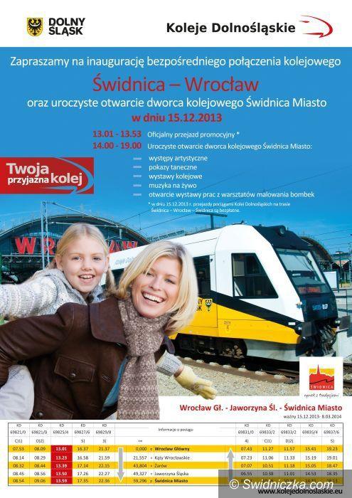 Świdnica: Nowy dworzec w Świdnicy od niedzieli otwarty dla podróżnych!