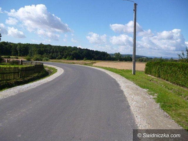 Gmina Marcinowice: Inwestycje drogowe w gminie Marcinowice – podsumowanie