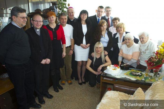 Świdnica: Świdniczanka świętowała 100 urodziny