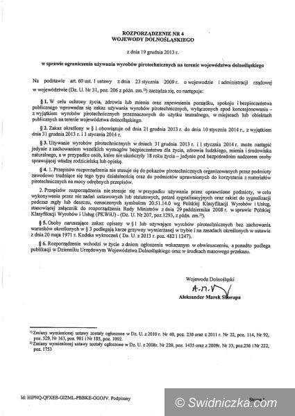 Świdnica: Straż Miejska apeluje o rozwagę!